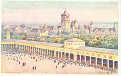 PWK - dziedziniec centralny - Pocztówka