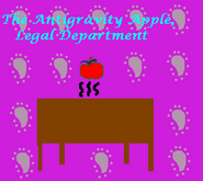 Antigravity Apple by Meg