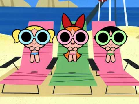 Powerpuff Girls Blossom Adult Glasses