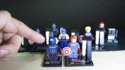 Lego Marvel SuperHeroes Captain America LELE Bootleg Review + Sheng Yuan Comparision