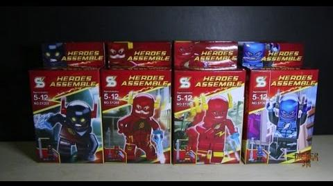 Lego DC Superheros The Flash Sheng Yuan Bootleg SY269 Review