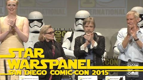 The Very Best Moments of the Star Wars Panel at San Diego Comic-Con 2015