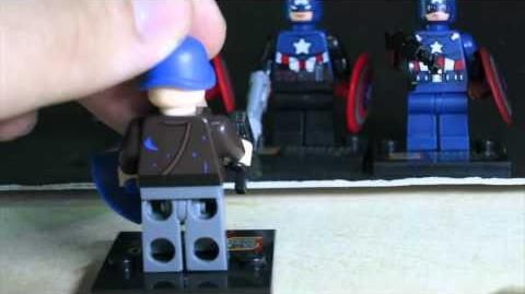 Lego Marvel SuperHeroes Captain America Sheng Yuan Bootleg Review