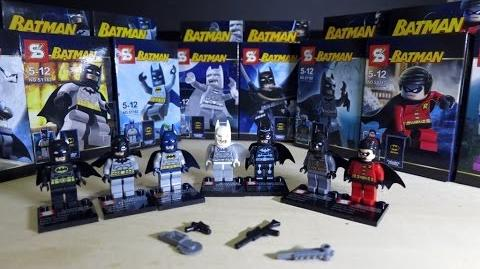 LEGO DC Superheroes Batman Sheng Yuan Bootleg Review