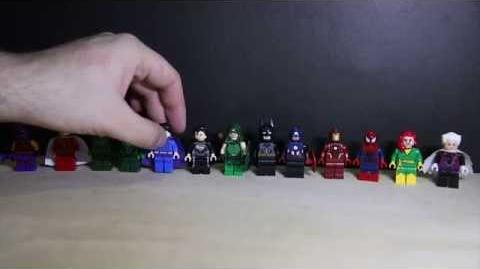 Lego Dc vs Marvel SuperHeroes Convention Exclusive Bootlegs 2015 Review