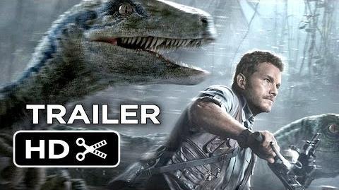 Jurassic World Official Trailer 2 (2015) - Chris Pratt, Jake Johnson Movie HD