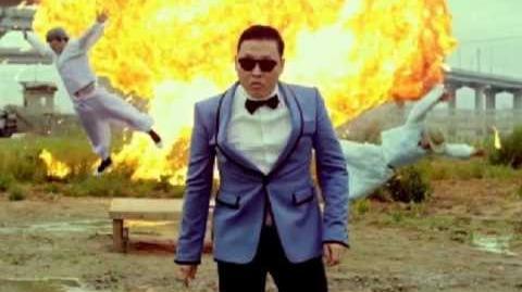 Caramelldansen style (Caramell vs Psy)