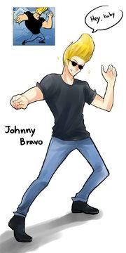 Johnny bravo by mewwi12345-d624w7c