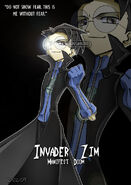 Invader Zim Without Fear by Krusnik007