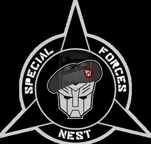 Transformers nest special forces custom logo by cbunye-d4rvidt