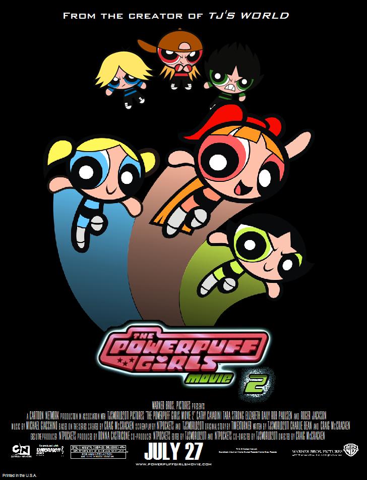 Powerpuff Girls Movie Logo