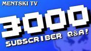 3000SubscriberQ&A!2016