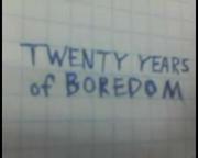 TwentyYearsOfBoredom2013TitleCard