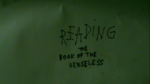 ReadingTheBookOfTheSenseless2015TitleCard