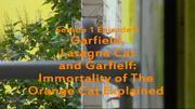 QualityContent2018s01e05Garfield,LasagnaCatAndGarfielf-ImmortalityOfTheOrangeCatExplainedTitleCard02