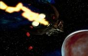Teknos approaching Xsarra