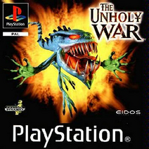 The unholy war PAL cover