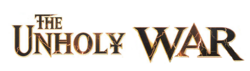 The unholy war font