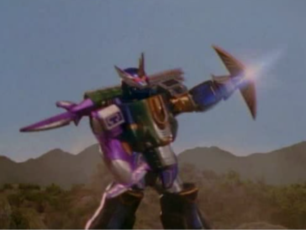 Predazord awaken power rangers wiki fandom powered by wikia the predazord battles the megazord thecheapjerseys Image collections