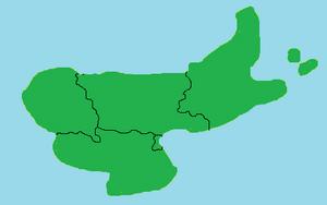 New regions map