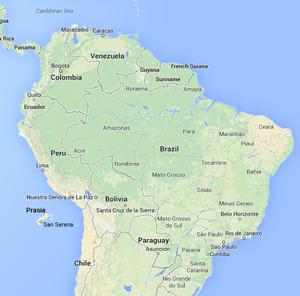 Prasia SouthAmerica