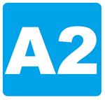 A2 sign