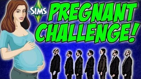 Sims 3 Pregnant Challenge - Vaggy Sunshine Meets Werewolf 49