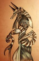 Stargate guard by Snake Obsidian