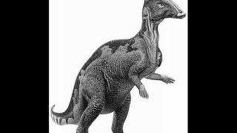 Parasaurolophus call