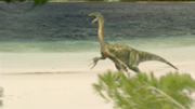 180px-Therizinosaurus roars on beach, The Giant Claw