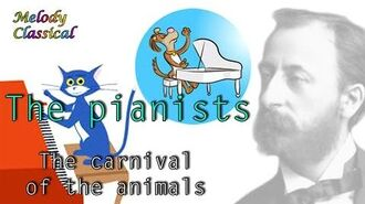 ♬ Camille Saint-Saëns ♯The Carnival of the Animals (XI)- Pianist