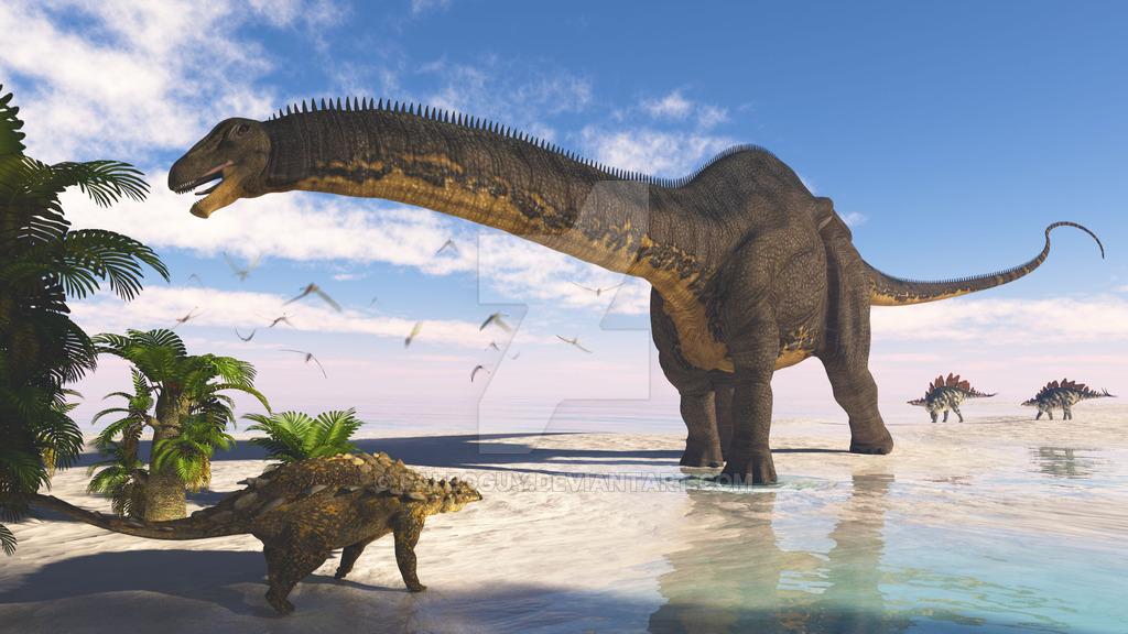 Картинки динозавра апатозавра