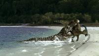 1x6 DeinosuchusAttackingParasaurolophus