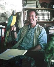 Nigel Marven behind the scenes portrait