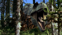 1x1 TyrannosaurRoaringAtNigel