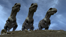 1x1 TyrannosaursOnHill