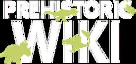 Transparent logo with dinosaurs