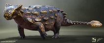 Ankylosaurus+Render