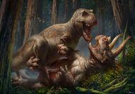 Versus triceratops
