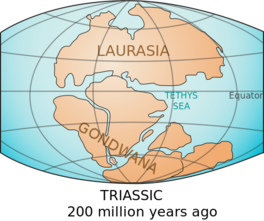 Triassic Earth 200mya