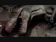 T. rex death