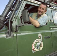 Nigel with his jeep