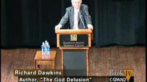 Professor Richard Dawkins tears Creationism apart, again.