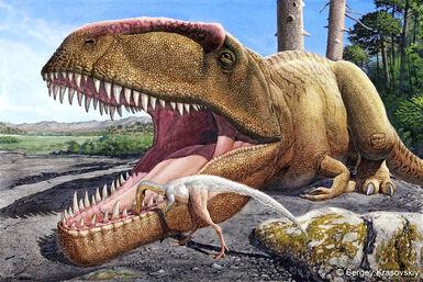 Dinosaurios Simbiosis
