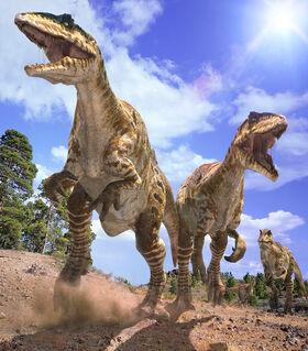 Giganotosaurus Caminando con Dinosaurios