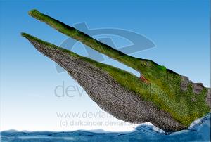 Stomatosuchus inermis by darkbinder