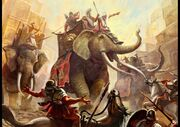 Elefante sirio
