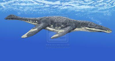 Liopleurodon by DiBgd