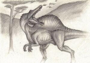 Spinosaurus Marocannus