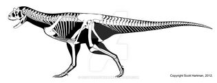 Carnotaurus is a mouth with legs by scotthartman-d4sq269